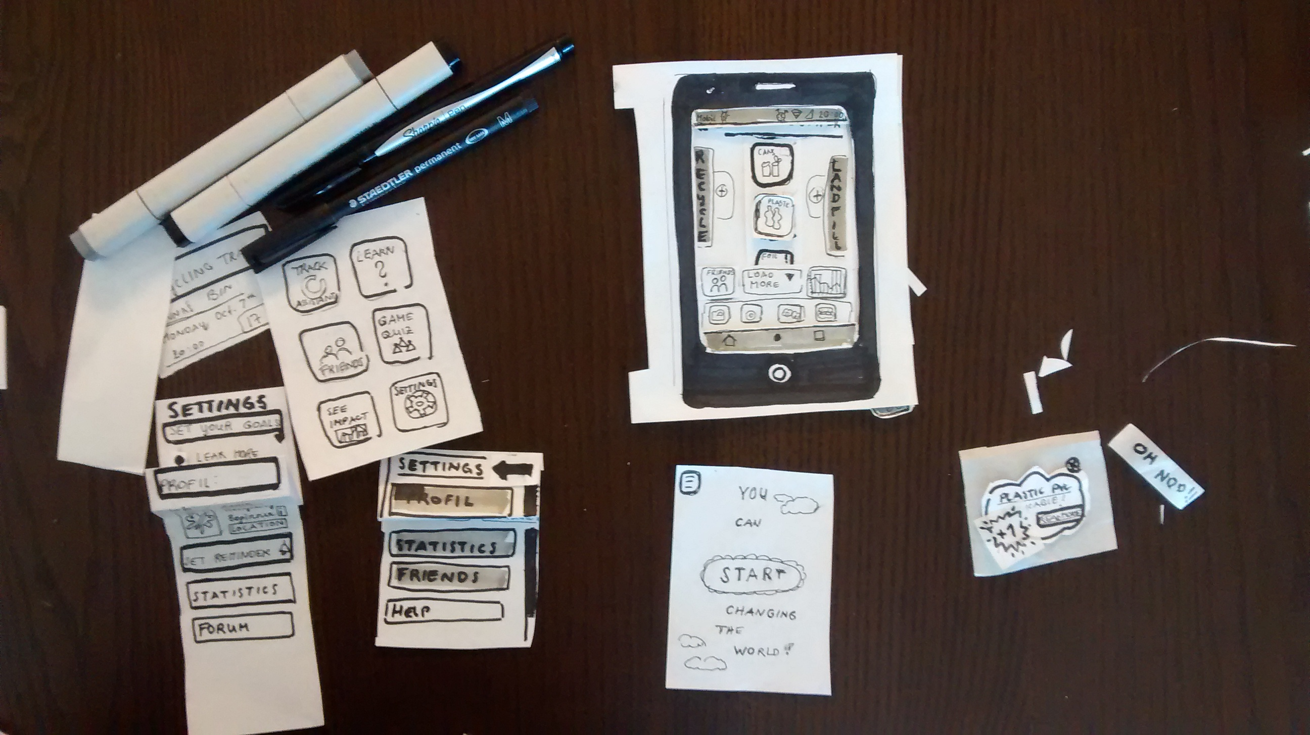 ux design recycling app anna theres ranftl